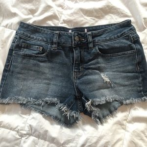 PINK cut off Jean shorts